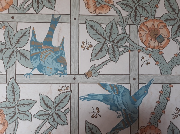 And more WIlliam Morris wall paper